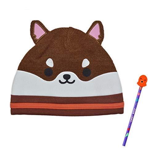 ザ・アクセス なりきり ニット帽子 帽子 イヌ 消しゴム付鉛筆1本セット ハロウィン 仮装 子供 コスプレ 景品 子供会