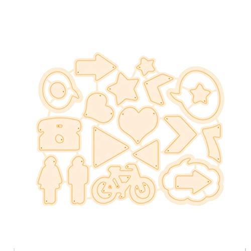 Geometrische achtergrond stempels en sterven hart ster Scrapbooking voor kaart maken album fotopapier Craft Die Cut stempel Sets, snijden Dies,China