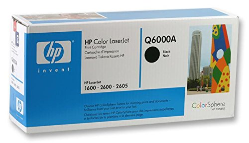 Hewlett Packard cartucho de tóner, Q6000A, de color negro, Hp Q6000A