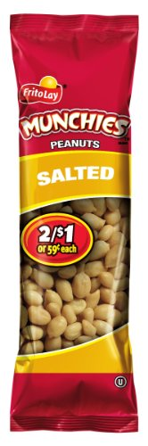 Munchies Peanuts, Salted, 1.63 Ounce (Pack of 32)
