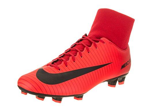 Nike Mercurial Victory Vi Df Fg Scarpini da calcio da uomo, UNIVERSITY RED/BLACK-BRIGH, 9