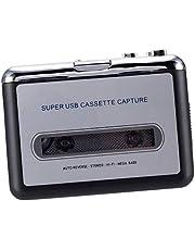 F Fityle Cassette Walkman Convertidor de Señal de Cinta Magnética a MP3 Reproductor de Música