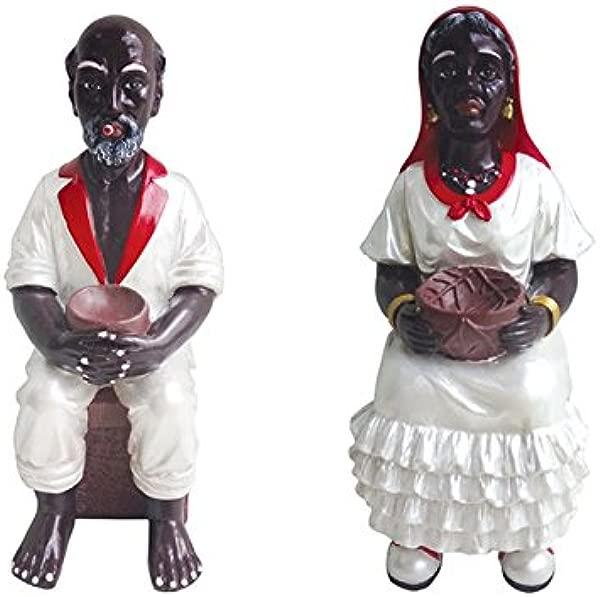 6 英寸旧金山和弗朗西斯卡雕像圣桑托圣塔里亚约鲁巴古巴埃塔图阿细节产品