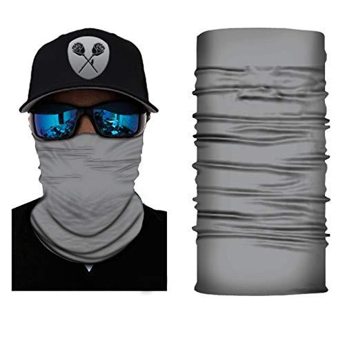 Black Roses Multifunktionstuch Herren & Damen - Wind Face Shield [Grey Classic]