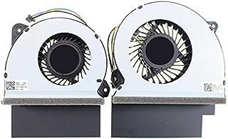 新しいCPU + GPUクーリングファンの交換 Asus ROG Strix GL702ZC GL702ZC-WB74 12V 13NB0FV0M10011, 13NB0FV0M09111