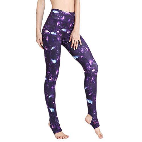 NIGHTMARE Leggings de Mujer Pantalones de Camuflaje de Cintura Alta Leggings de Gimnasio Power Stretch Pantalones de Yoga Running Leggings de Entrenamiento Medias de Entrenamiento L