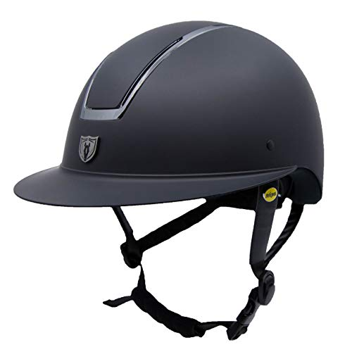 horseback riding helmets TIPPERARY EQUESTRIAN Horse Riding Helmet - Windsor - English Style Protective Horseback Riding Apparel - Customizable Fit and Cooling Ventilation