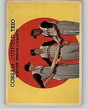 1959 Topps #543 Roberto Clemente Bill Virdon EX 372063 Kit Young Cards