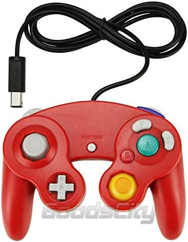 Cheap super special price Red Game Controller Gamepad for Nintendo Fresno Mall NGC GameCube Wii