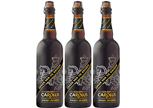 Gouden Carolus van de Keizer Whiskey Infused Bier Paket mit 3 Bieren