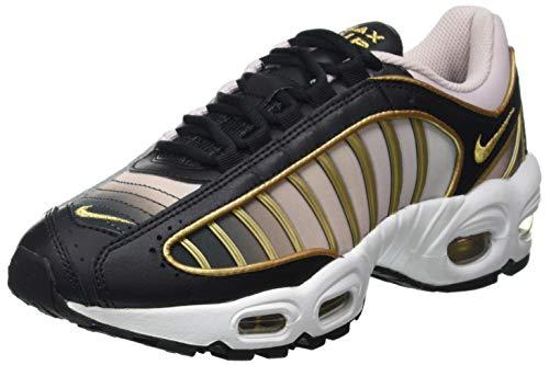 Nike W Air Max Tailwind IV LX, Scarpe da Corsa Donna, Black/Metallic Gold-Barely Rose, 38 EU