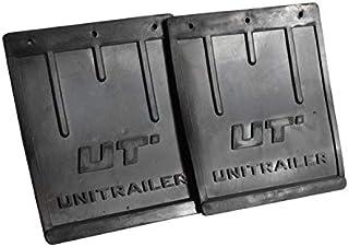 Set: twee grote rubberen spatlappen Unitrailer voor spatborden van aanhangwagens