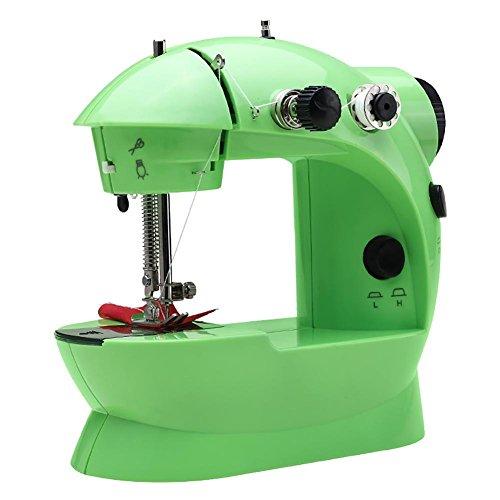 Myhope Elektrische naaimachine, ABS, led, licht en automatisch, achteruit, 2 voedingsopties, 20 x 19 x 10 cm