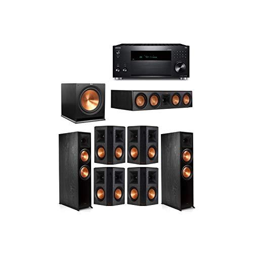 Review Klipsch 7.1 System with 2 RP-8000F, 1 Klipsch RP-504C, 4 Klipsch RP-502S, 1 Klipsch R-115SW, ...