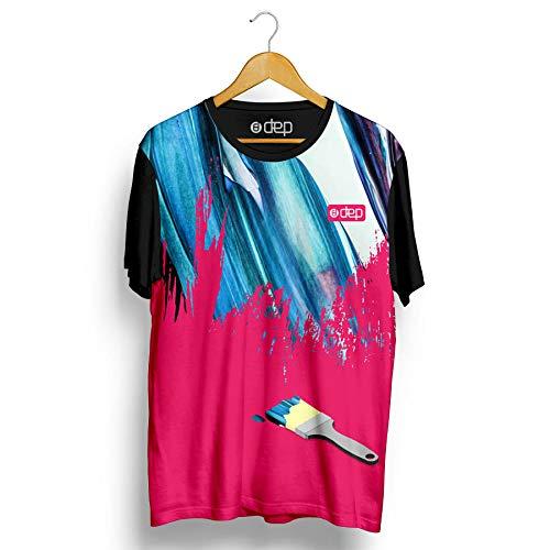 Camiseta Dep Pintura Rosa (P)