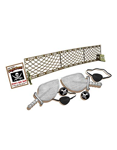 CORTEX TOYS Pirate Pong - Portable Themed Table Tennis Set