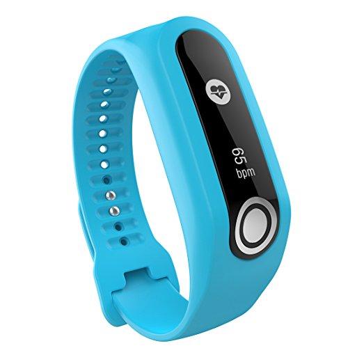 Lokeke - Correa de silicona para reloj inteligente TomTom Touch