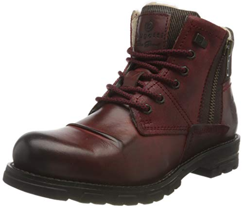 bugatti Herren 321A0Z511200-3100 Mode-Stiefel, Dark red, 42 EU