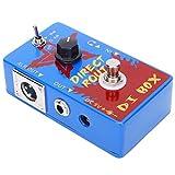 Pedal de efectos de guitarra, Pedal de guitarra Pedal de efectos portátil con control VOL Mini Pedal de efectos para guitarra eléctrica para guitarra Folk Pop
