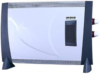 Orava EK-2003 calentador de ambiente - Calefactor (230V, 50 Hz, 2000W, 65 cm, 10 cm, 42.7 cm)
