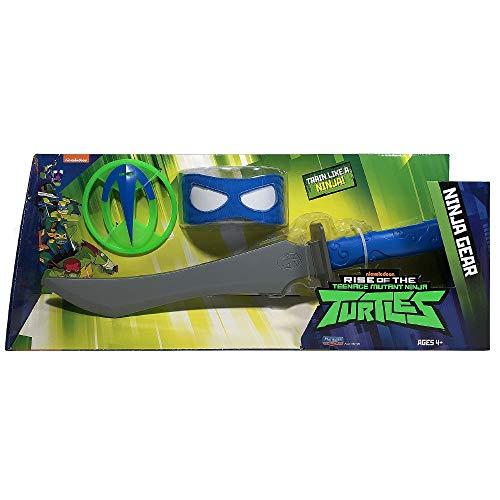Giochi Preziosi Teenage Mutant Ninja, Turtles Rise Off, Set Armi Ninja, Leonardo da Odatchi spada