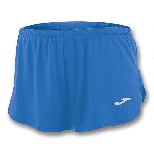 Joma Record Pantalones Cortos, Hombres, Azul (Royal), M