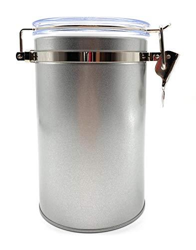 Aufbewahrung Kaffee 250g - Kaffeedose mit Bügelverschluss - Vorratsdose mit Aromaverschluss - Kaffeebehälter 250g auch als Teedose geeignet