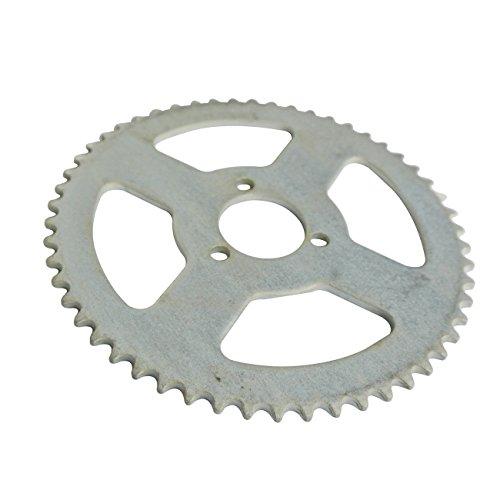 Rueda de cadena de 54-70 dientes trasera, apta para cadena Minimoto de 6 mm/8 mm 25H/T8F