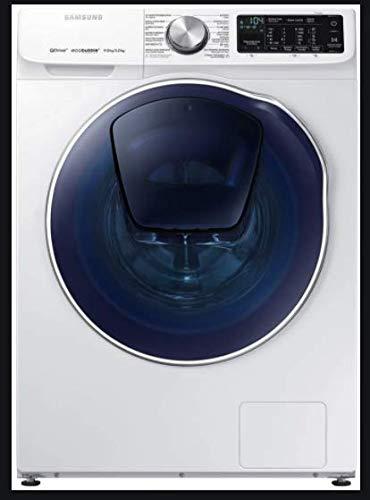 Samsung WD91N642OOW Independiente Carga frontal A Negro, Blanco lavadora - Lavadora-secadora (Carga frontal, Independiente, Negro, Blanco, Izquierda, Giratorio, Tocar, LED)