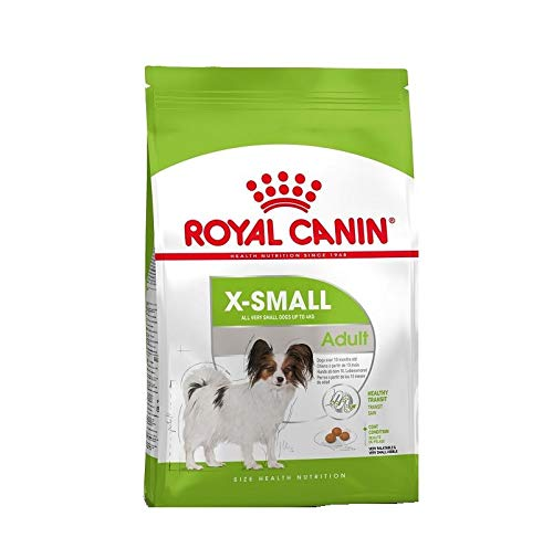 Royal Canin Hundefutter X-Small Adult, 1,5 kg, 1er Pack (1 x 1.5 kg)