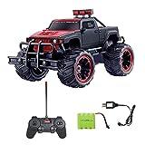 Diawell RC Voiture Pick Up Monster Truck Monstertruck Offroad télécommandée pour enfants et adultes