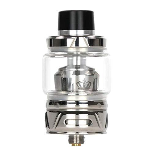 Uwell Crown 4 Clearomizer 5 ml / 6 ml, Durchmesser 28 mm, Riccardo Verdampfer für e-Zigarette, silber