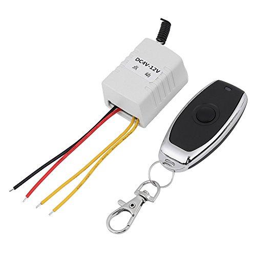 Akozon Wireless Relay afstandsbediening een sleutelschakelaar ontvanger + zender DC 4 V 5 V 6 V 7.4 V 9 V 12 V