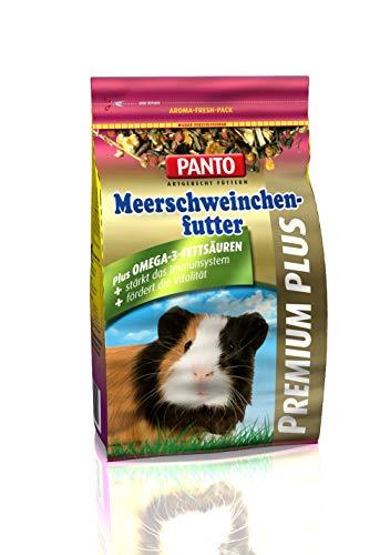 Panto Meerschweinchenfutter, Premium Plus 600 g, 3er Pack (3 x 600 g)