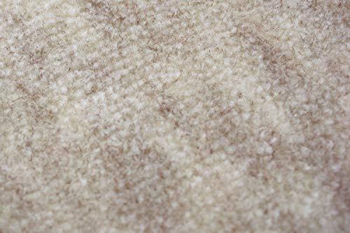 抗菌加工付き丸巻きカーペット ファーレ日本製【10帖 352×440cm 】ベージュ