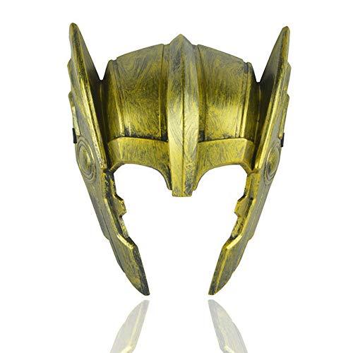 ZYER Máscara de Halloween Thor Casco de Ragnarök Thor, Dis