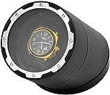 Enrollador de reloj Enrollador automático de reloj mecánico, Caja de almacenamiento de reloj de gama alta para el hogar de una sola mesa, Giratorio eléctrico / Modo de 3 velocidades y 4 velocidades