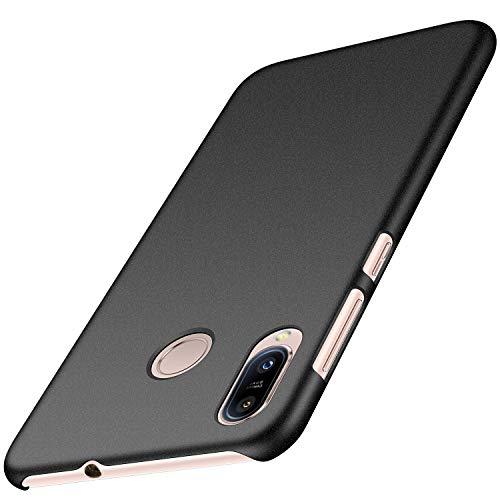 Anccer Cover Zenfone Max (M1) ZB555KL, [Alta Qualità] [Ultra Thin] Anti-Scratch Hard PC Case Custodia per Zenfone Max (M1) ZB555KL (Ghiaia Nera)