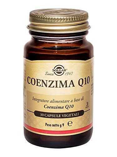 Solgar CoQ-10 (Coenzima Q-10) 30 mg Cápsulas vegetales - Envase de 30