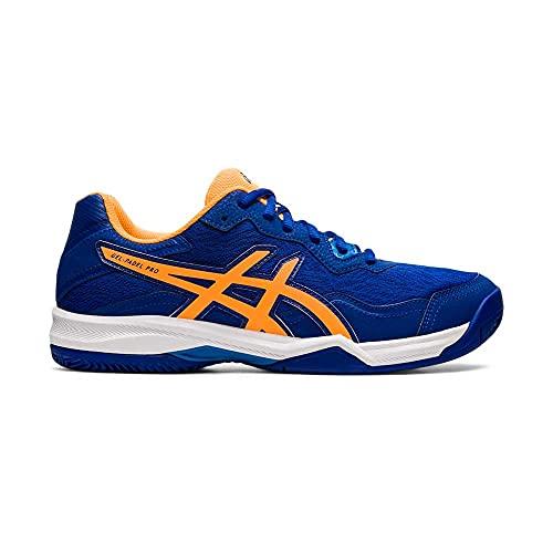 ASICS Gel-Padel Pro 4, Zapatillas de Running Hombre, Monaco Blue Orange Pop, 45 EU