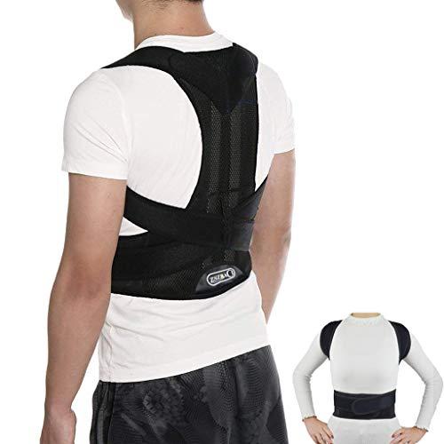 ZSZBACE Haltungstrainer für Frauen und Herren, Rücken Geradehalter gegen Rückenschmerzen, Haltungskorrektur Rückentrainer Schultergurt gegen Nacken -und Schulterschmerzen (L (90-105cm))