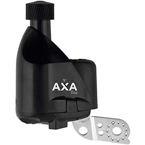 Axa Trio 2 x 2 Dynamo schwarz Ausführung Montageverpackung ohne Zubehör (rechts) 2016
