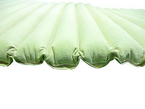 Perfect Pillow LTD Materasso di Grano saraceno Biologico Design Tubolare, Comoda, Traspirante, Naturale, Amazing Value, Natural, 190x90 CM