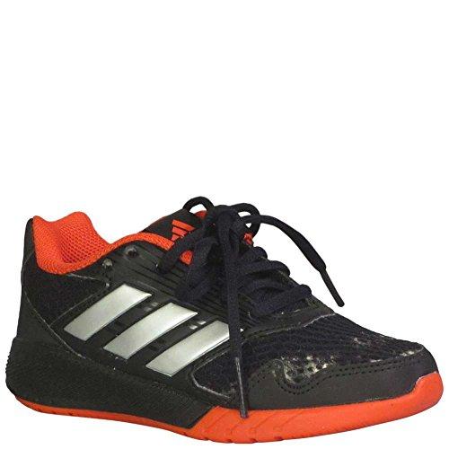 adidas Kids' Altarun Sneaker, Core Black, Silver Met, Core Red s, 7 M US Big Kid