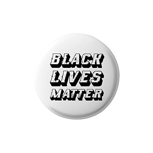 Teckey Spilla per Badge, Non Riesco A Respirare Spilla per Badge degli Stati Uniti Black Lives Matter in Lega Protesta