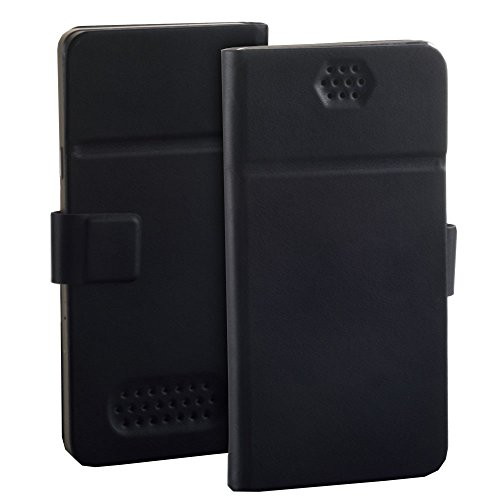 Premium étui de protection à rabat noir pour samsung galaxy grand prime de protection à coque de protection rabat style livre