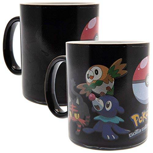 Pokemon Evolve - Heat Change Mug Tasse schwarz