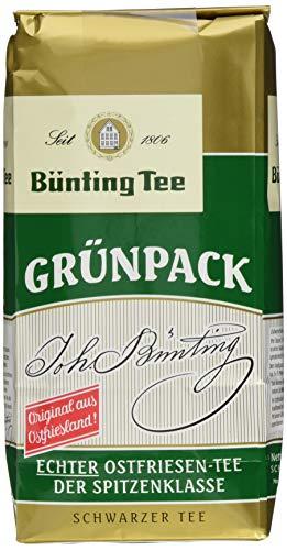 Bünting Tee Grünpack Echter Ostfriesentee 500 g lose (1 x 500 g)