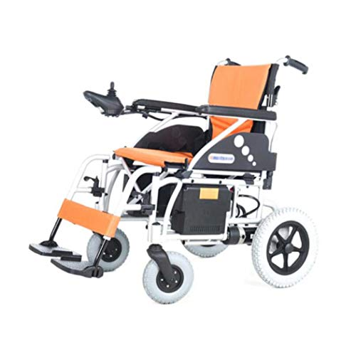 GJX Opvouwbare elektrische rolstoel, aluminiumlegering, lichter oude, ongeschikte intelligente elektrische rolstoel, volautomatische multifunctionele lithiumbatterij, vierwielige scooter