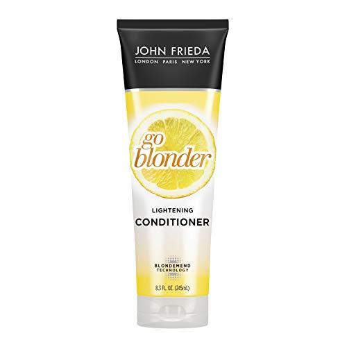 Sheer Blonde Go Blonder Lightening Conditioner, 245 ml, John Frieda